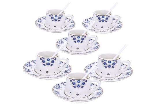 Plum Blossom Porcelain Coffee Sets