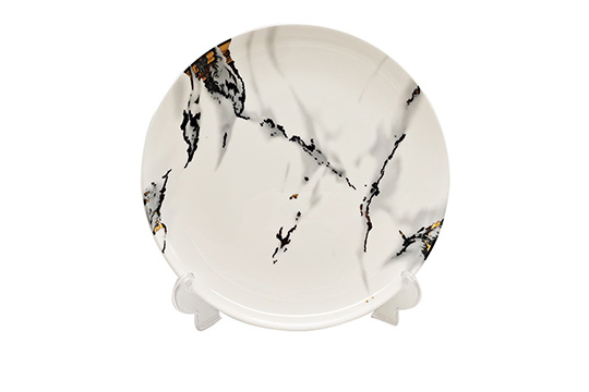 16pcs marble decal fine bone china dinenr set  TRBC008SS