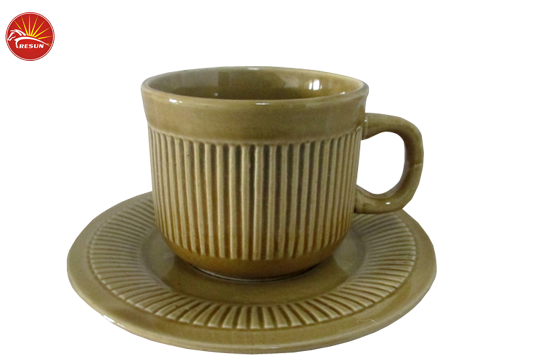 cup and saucer, drinkware