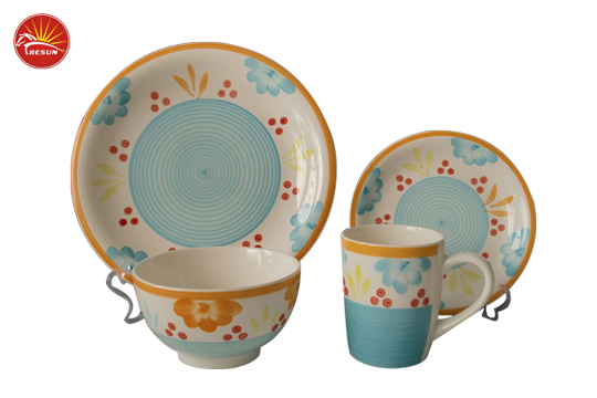 TRH0816 dinner set, ceramic dinner set