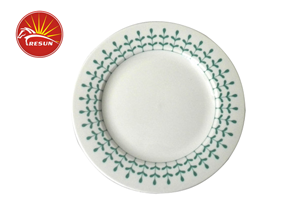 TRD0016 decal dinner plates , dinner plate